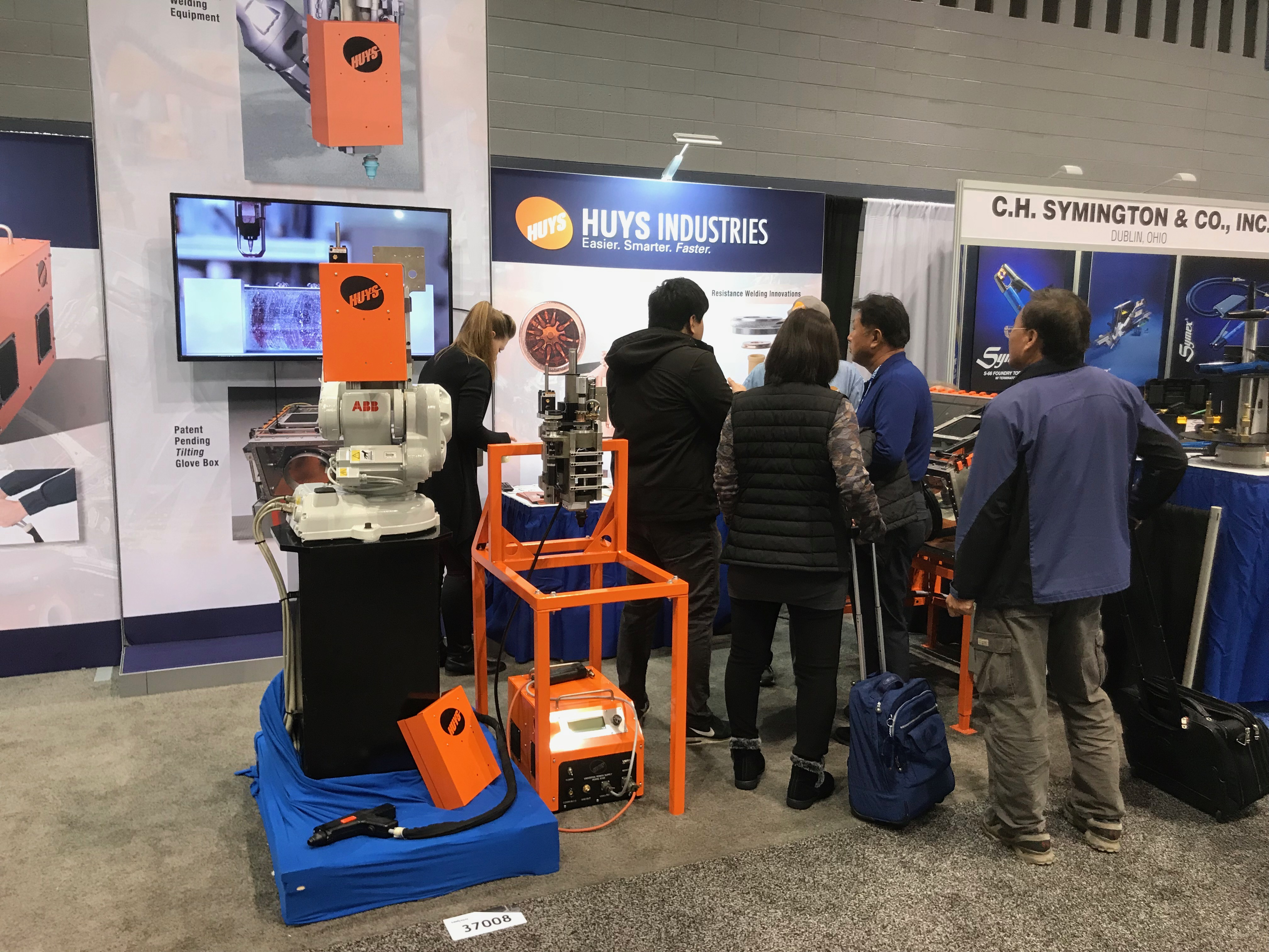 New Products Launched at FABTECH • Huys