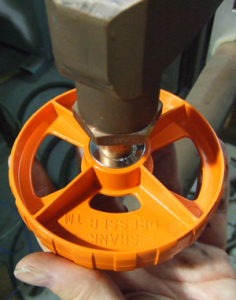 Taper Tool in Use